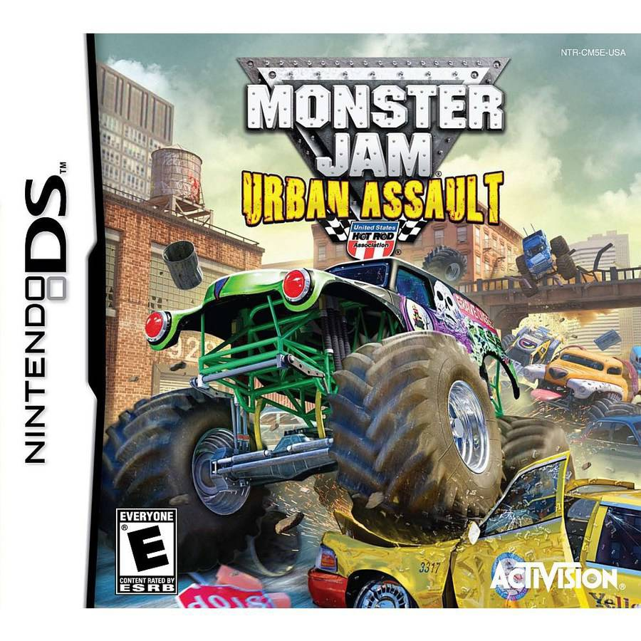 Monster Jam 2-Urban Assault (DS) - Pre-Owned
