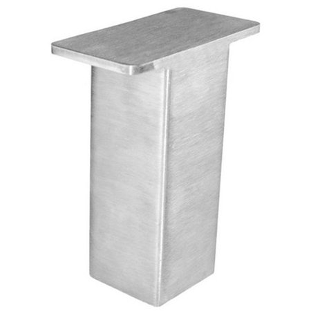 Federal Brace 31536 The Plaza Countertop Post Supports, Stainless Steel - 5