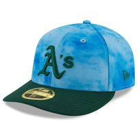 Oakland Athletics New Era 2019 Father's Day On-Field Low Profile 59FIFTY Fitted Hat - Blue/Green