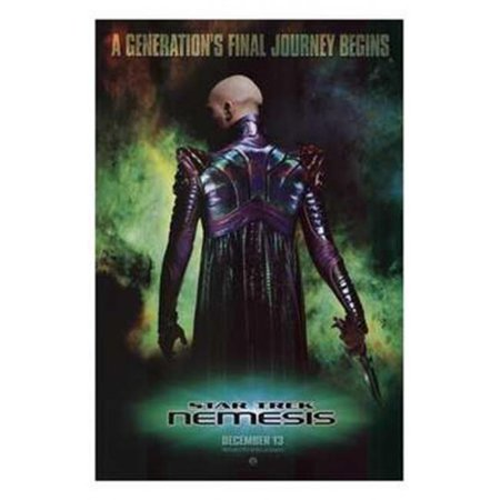 Posterazzi MOV192165 Star Trek Nemesis Movie Poster - 11 x 17 in. - image 1 de 1