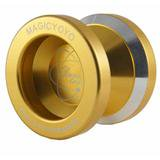 Magic YoYo N8 Dare to Yo Aluminum YoYo (Gold) - Yo Yo Balls