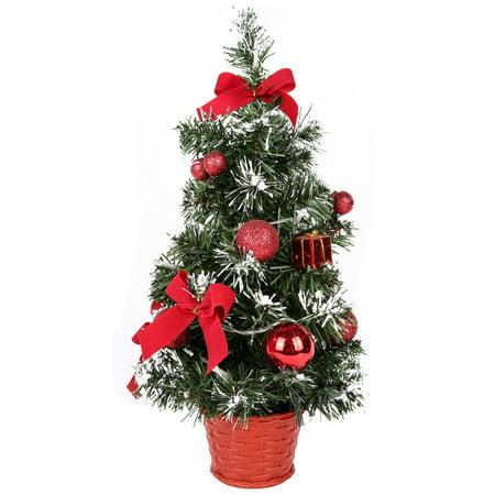 Winsellers Christmas Tree Decoration Mini Artificial Trees Christmas Decorations Light bulb