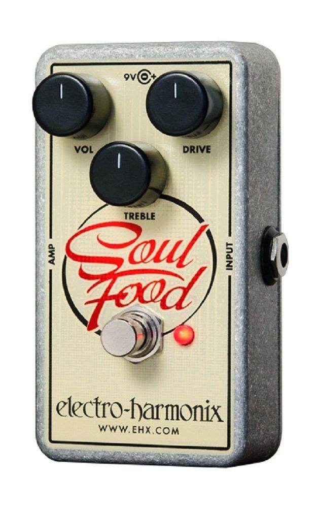 Electro-Harmonix SOULFOOD Distortion Fuzz Overdrive Pedal by Electro Harmonix