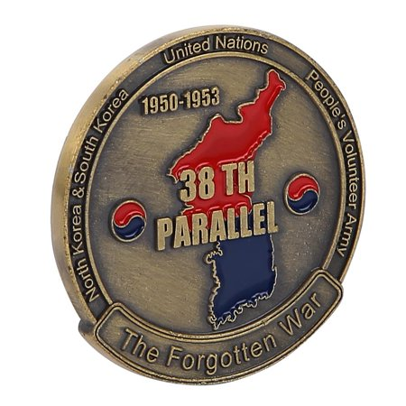TOPINCN 40*3mm US Army Weapon Pattern Commemorative Metal Bronze Coin Collection,US Army Coin, Bronze Coin - image 6 de 8