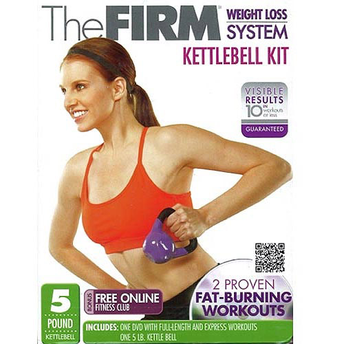 Gaiam The Firm Weight Loss System: 5 Lb Kettlebell Kit