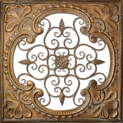 HDC International Metal Tin Cutout Wall Decor