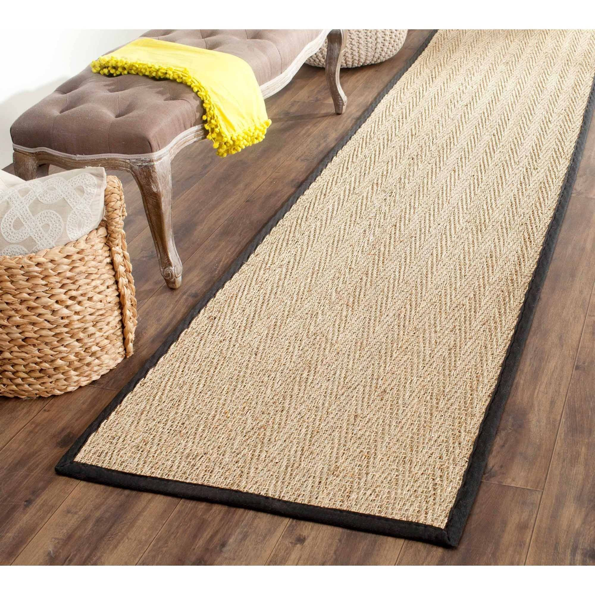 Safavieh Natural Fiber Maisy Border Area Rug or Runner by Safavieh