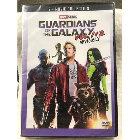 Guardians of the Galaxy Vol. 1&2 Obviously (DVD)