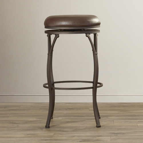 Delicieux Red Barrel Studio Boyers 30u0027u0027 Swivel Bar Stool