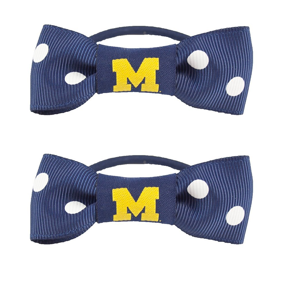 Little Earth NCAA Bow Pigtail Holder (Set of 2) (Set of 2)