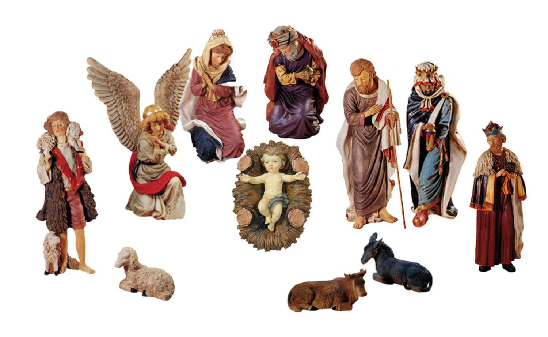 Outdoor Nativity Christmas Statue Set