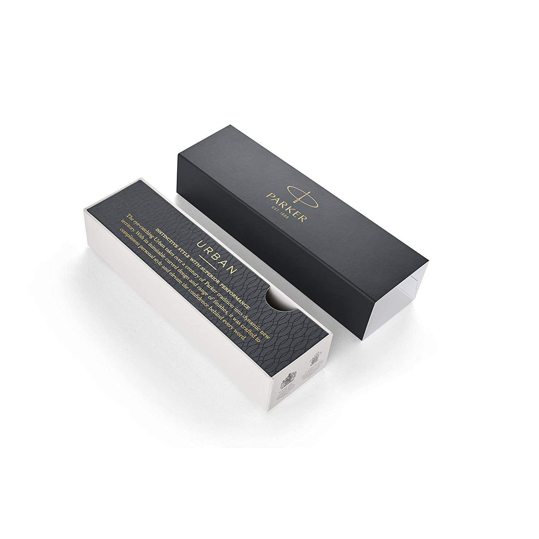 Details about  /Parker Urban Ballpoint Pen Vibrant Magenta /& Silver Black Med New In Box 1975420
