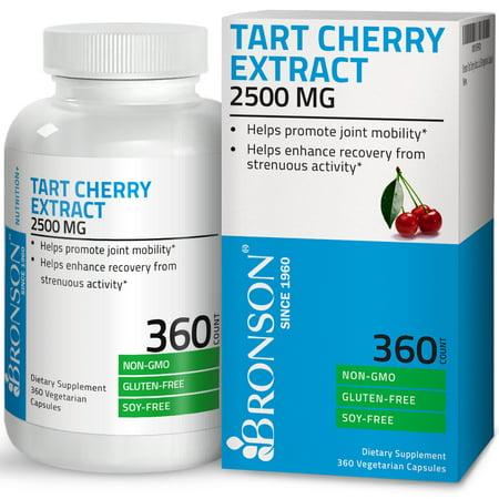 Bronson Tart Cherry Extract 2500 mg Non-GMO Gluten & Soy Free