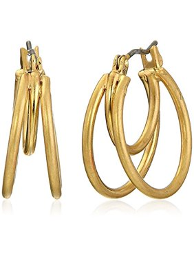 Kenneth Cole New York Small Gold Hoop Earrings