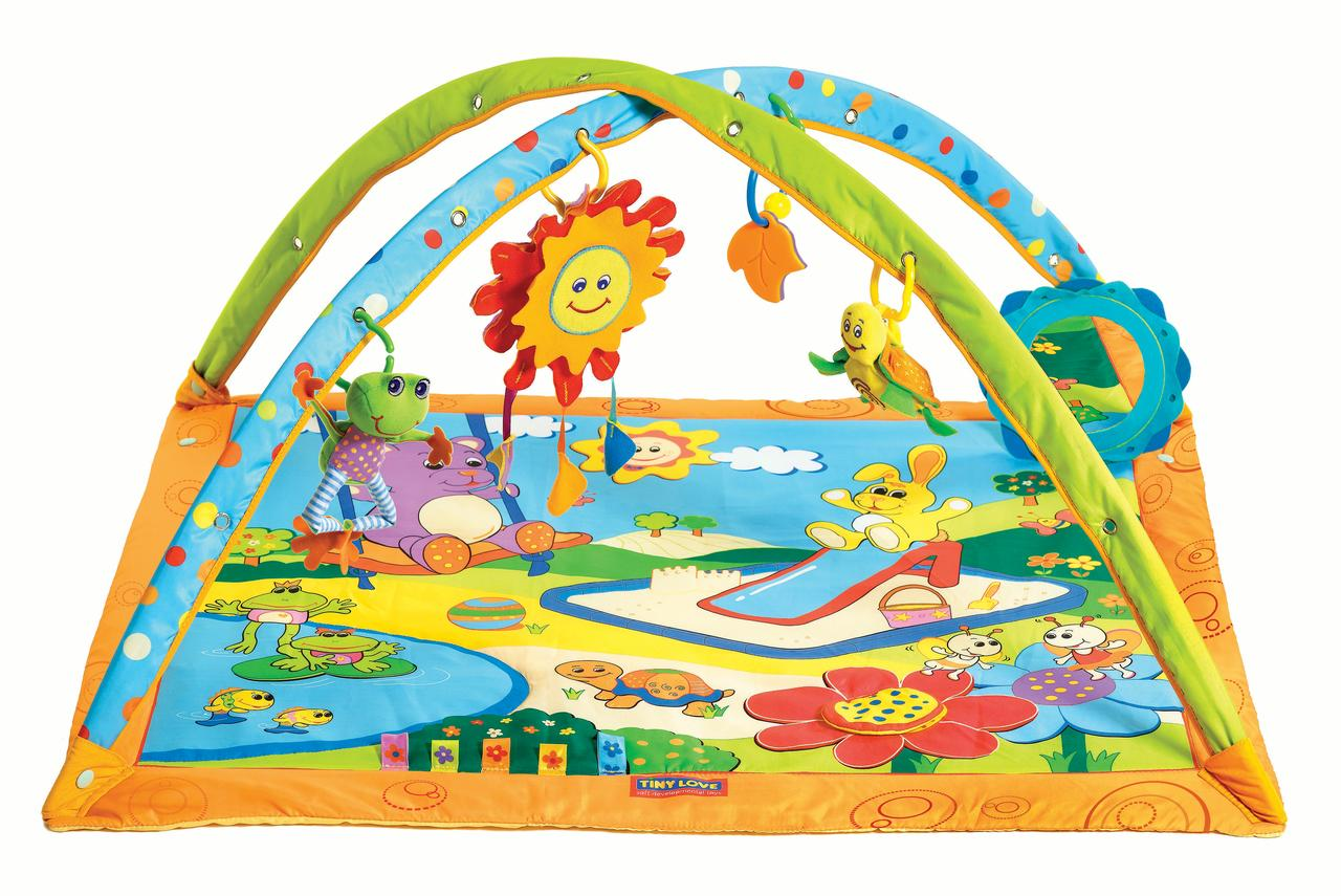 Tiny Love Gymini Sunny Day Activity Gym Play Mat, Sunny Day by Tiny Love