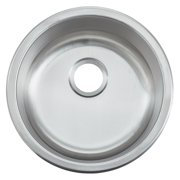 Empire Industries BR18 Single Bowl Undermount Stainless Steel Bar Sink