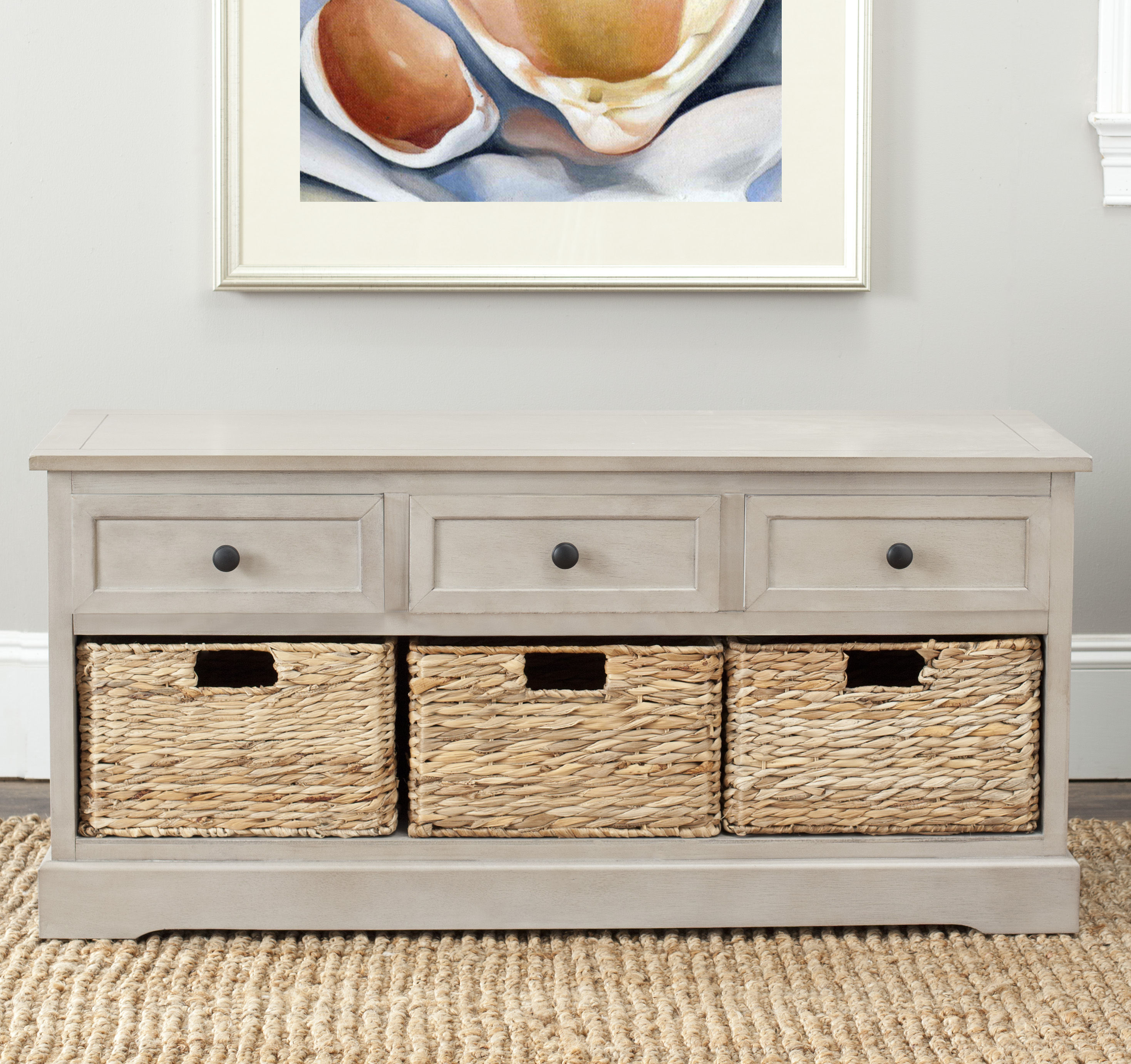 Safavieh Damien 3-Drawer Storage Unit
