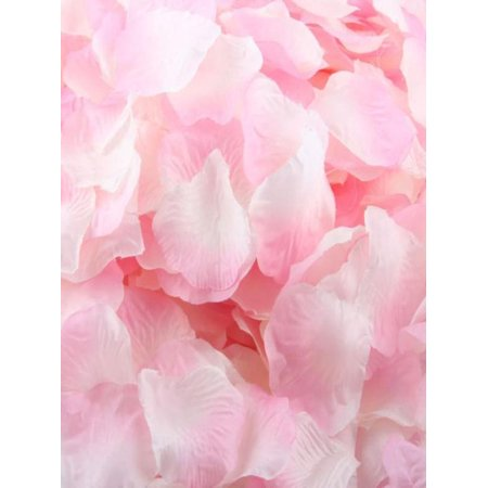 1000pcs Pink Silk Rose Artificial Petals Wedding Party Flower Favors Decor