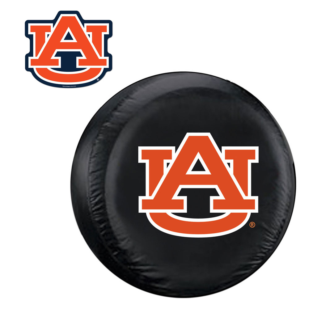 Internet Fulfillment Services IFS-COL-AUB-TCGOGO-S Auburn Tigers Ncaa Spare Tire Cover And Grille Logo Set [regular]