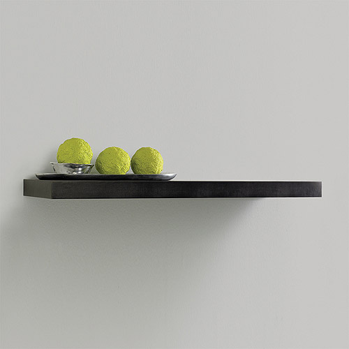 "InPlace Shelving 23.6"" W x 10.2"" D x 2"" H Floating Wood Wall Shelf, Espresso"