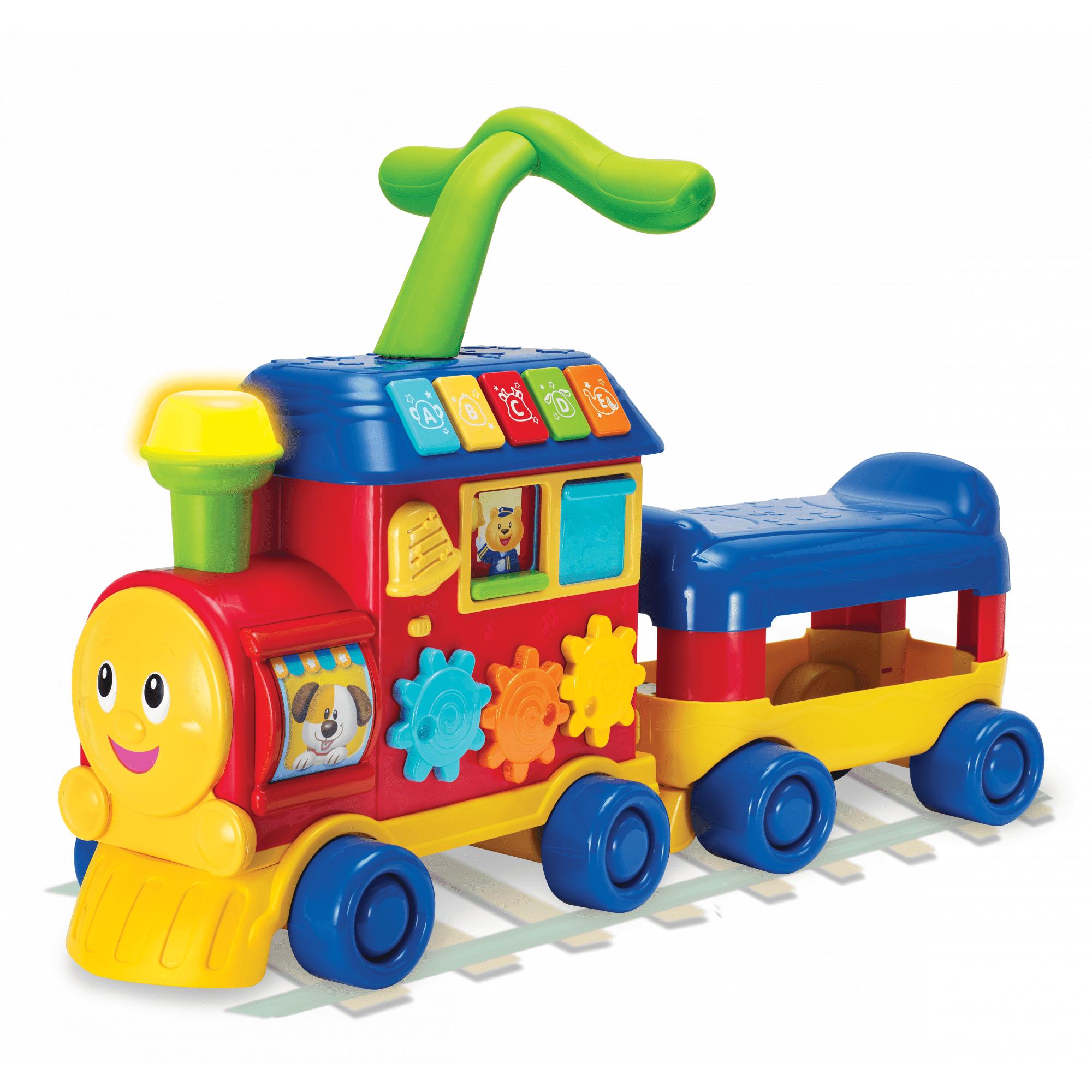 Walker Ride-On Learning Train by BRILLIANT BEGINNINGS