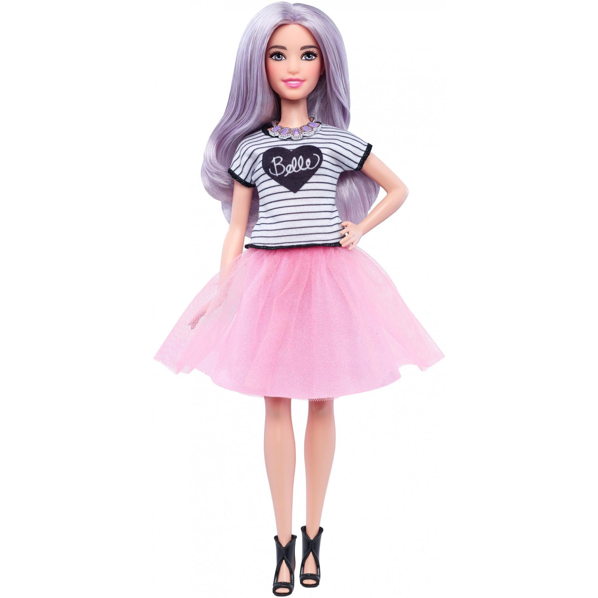 Barbie Fashionistas Tutu Cool, Petite Body Doll by MATTEL INC.