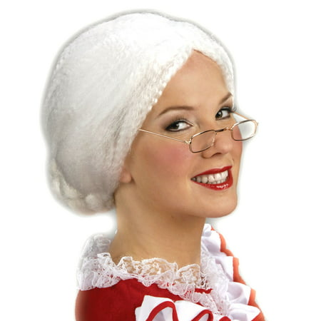 Mrs. Claus Women's Wig - Mrs Claus Dress Up