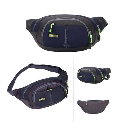 Waist Pack Women Men Fanny Pack Belt Phone Pouch Bags Outdoor Running Cycling Camping Travel Waist Pack Bag - image 4 of 7