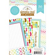 """Day To Day Simply Put Album Inserts 4""""X6""""- , Pk 3, Doodlebug"""
