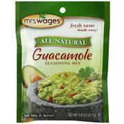 Mrs. Wages Guacamole Seasoning Mix, 0.8 oz (Pack of 12)