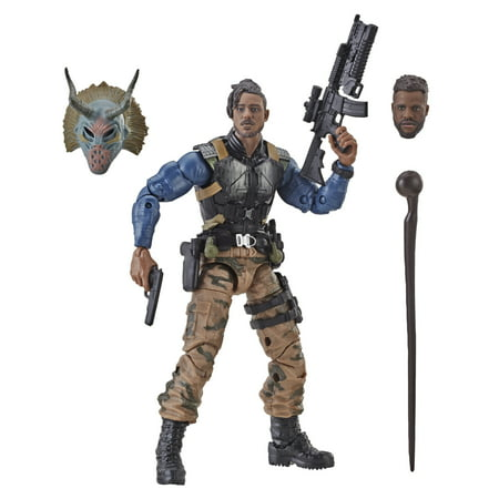 Marvel Legends Series Black Panther 6-inch Erik Killmonger Figure (The Black Cat Marvel)