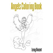 Angels Coloring Book (Paperback)