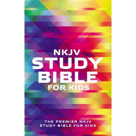 NKJV Study Bible for Kids: The Premier NKJV Study Bible for Kids (Paperback) - Bible Crafts For Kids