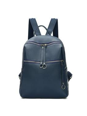 a8fe2bfdd5e Product Image Women Lady Backpack Rucksack Faux Leather Shoulder Bag  Satchel Handbag School Bags Black