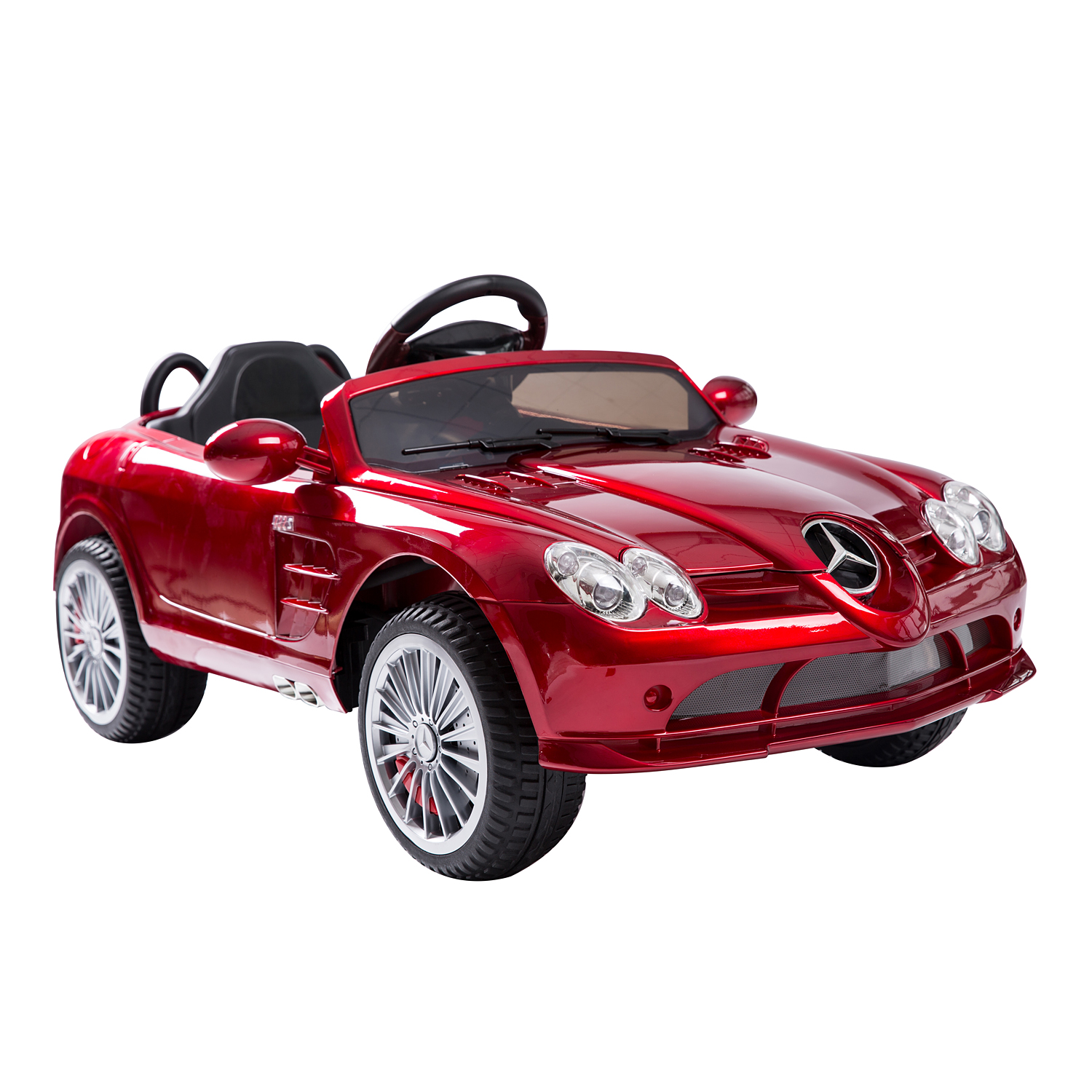 Mercedes-Benz CLS 12V Electric Battery Kids Toy Ride On Car w/ Remote - Red