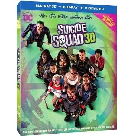 Suicide Squad  Blu Ray 3D   Blu Ray   Dvd   Digital Hd With Ultraviolet   With Vudu Digital Copy   Widescreen