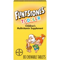 Flintstones Chewable Toddler Vitamins, Multivitamin for Toddlers, 60ct