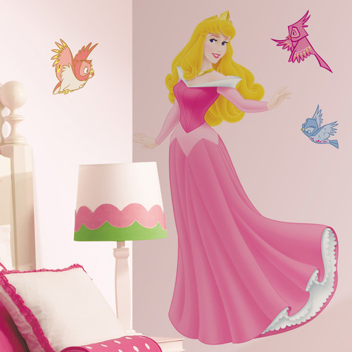Disney Princess - Sleeping Beauty Peel and Stick Giant Wall Decal