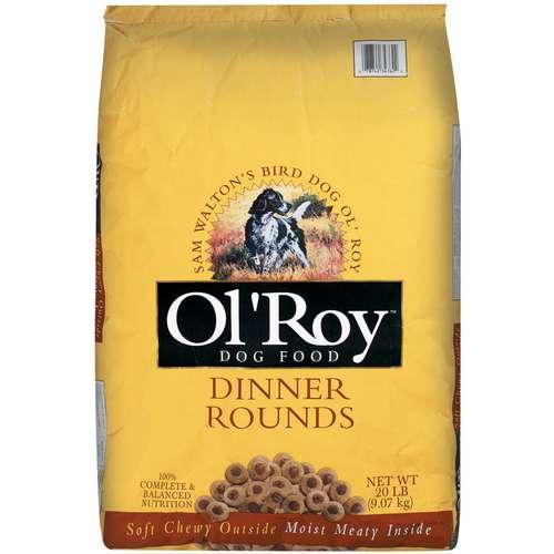 20lb Ol Roy Dinner Rounds