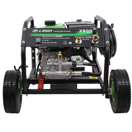 New Design Pressure Storm Series 2,800-PSI 2.3-GPM AR Axial Cam Pump Recoil Start Gas Pressure Washer with EZ Access Panel Mounted Controls -Stay Off Your