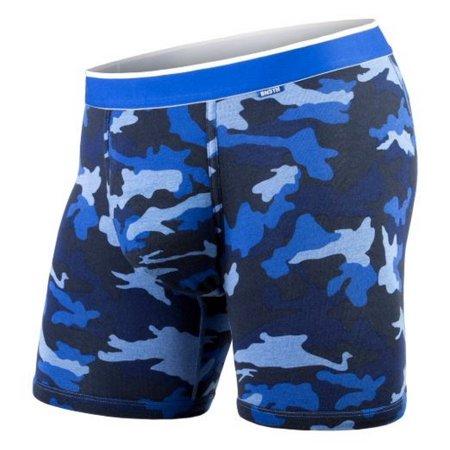 BN3TH Men's Classic Boxer Brief Everyday Underwear 3-D Pouch Color Options MOBB (American Underwear Men)