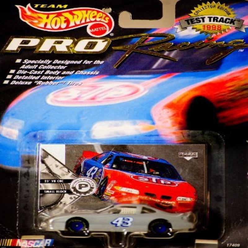1998 Mattel Team Hot Wheels Pro Racing Test Track Edition Nascar Bobby Hamilton #43 STP... by