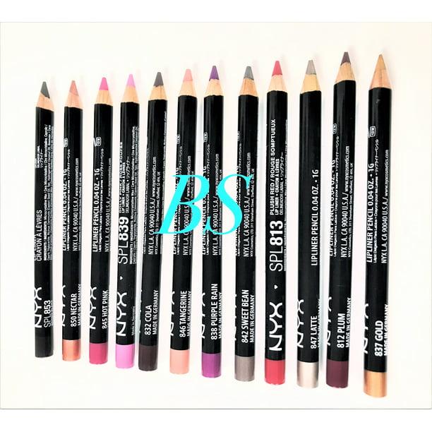 NYX Professional Makeup Slim Lip Liner Pencil, [828] Ever