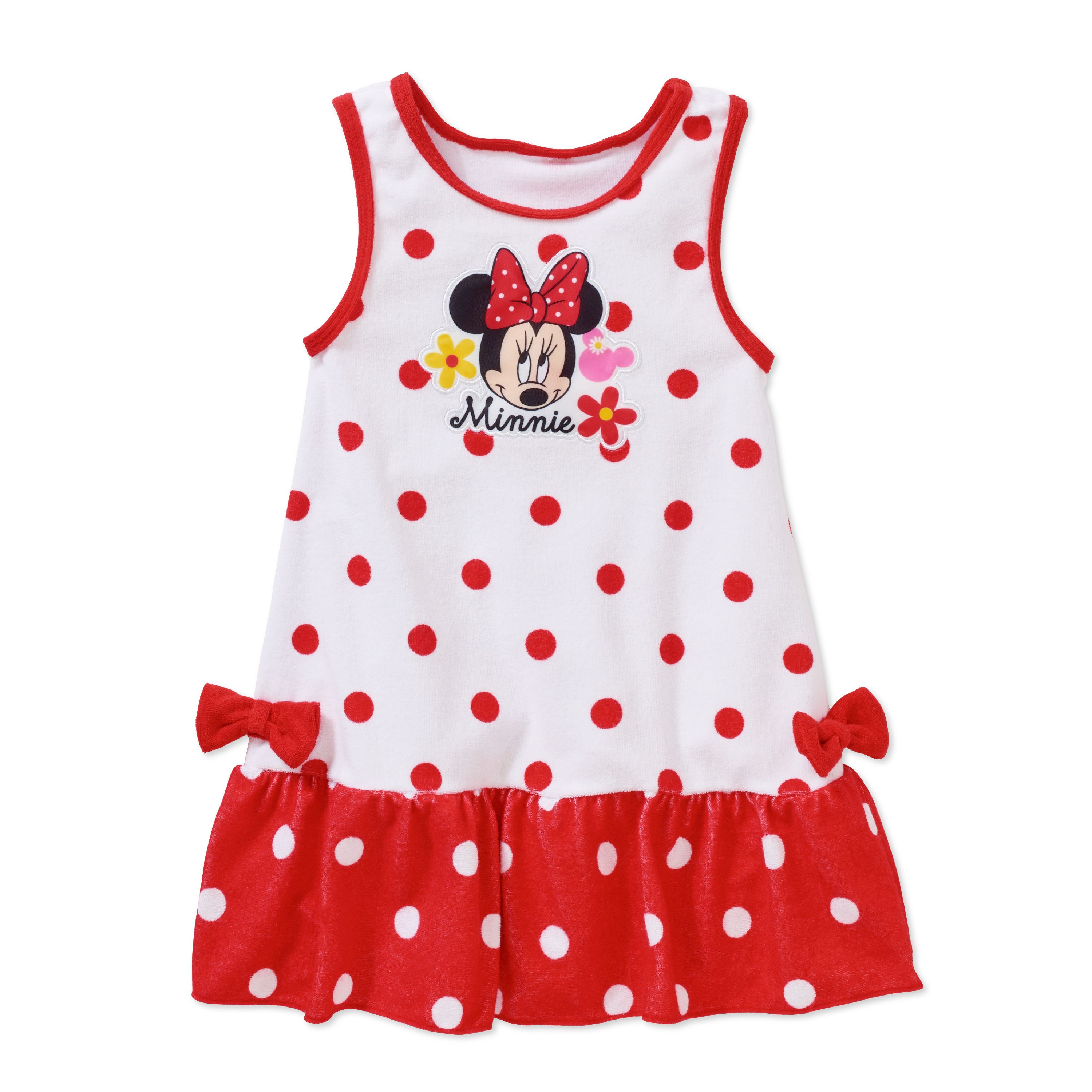 Minnie Mouse Toddler Girl Swim Coverup Dress