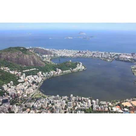 Iphone X Xs Plastic Case Cover With Landscape Brazil Rio De Janeiro Vacation Christ Picture Printed On It