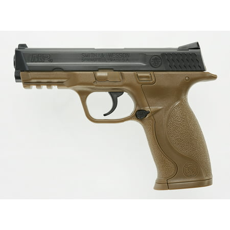 - Umarex USA 2255051 Smith & Wesson M&P Air Pistol Double .177 BB Brown/Black