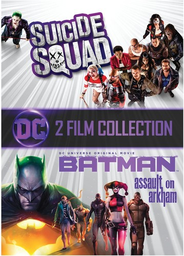 Squad Batman Assault On Arkham Dvd Walmart Com Walmart Com