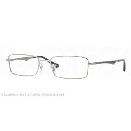 37c06f4fdb Eyeglasses Ray-Ban Optical RX 6211 2339 MATTE GUNMETAL - Walmart.com
