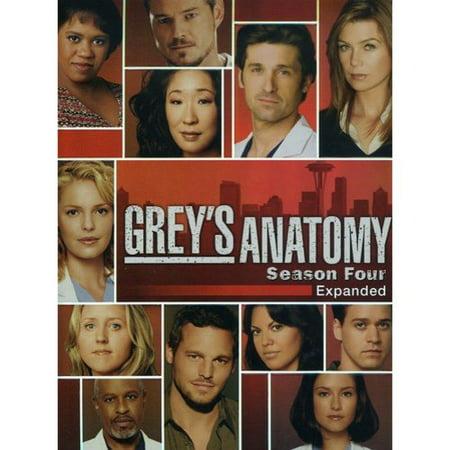 Greys Anatomy  Season Four   Expanded  Widescreen