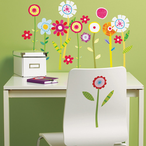 Wallies Garden Wall Decal